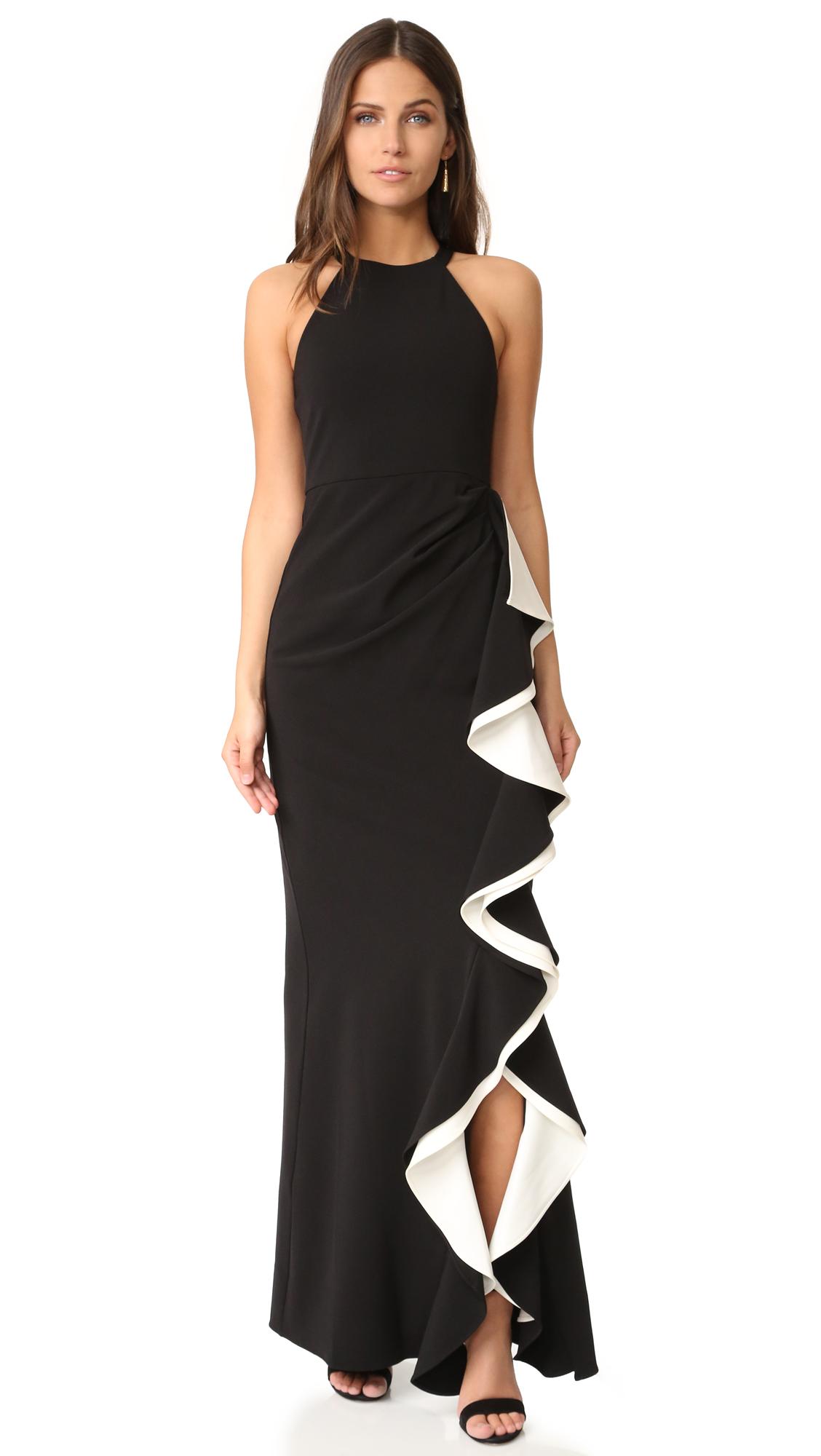 Parker Parker Black Corrine Dress