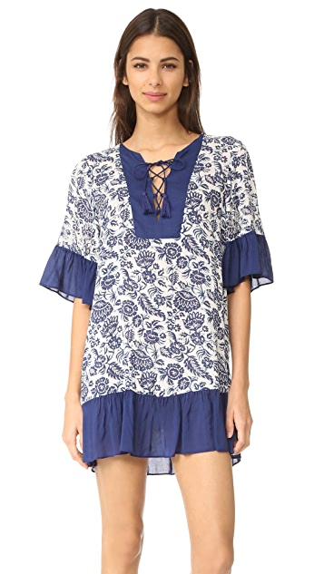 Parker Parker Beach Beaded Cascade Combo Cover Up