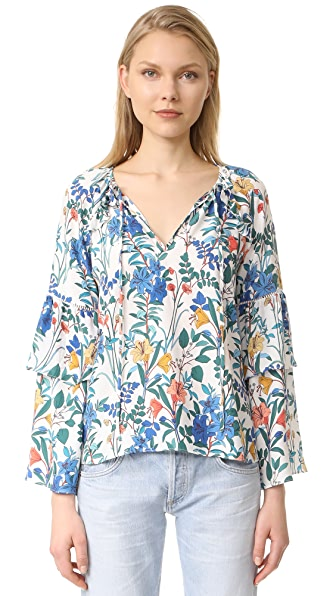 Parker Шелковая блуза Saturday