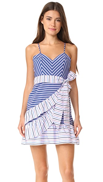 Parker Brooklyn Dress - Multi Stripe