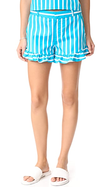 Parker Frankie Shorts In Lagoon