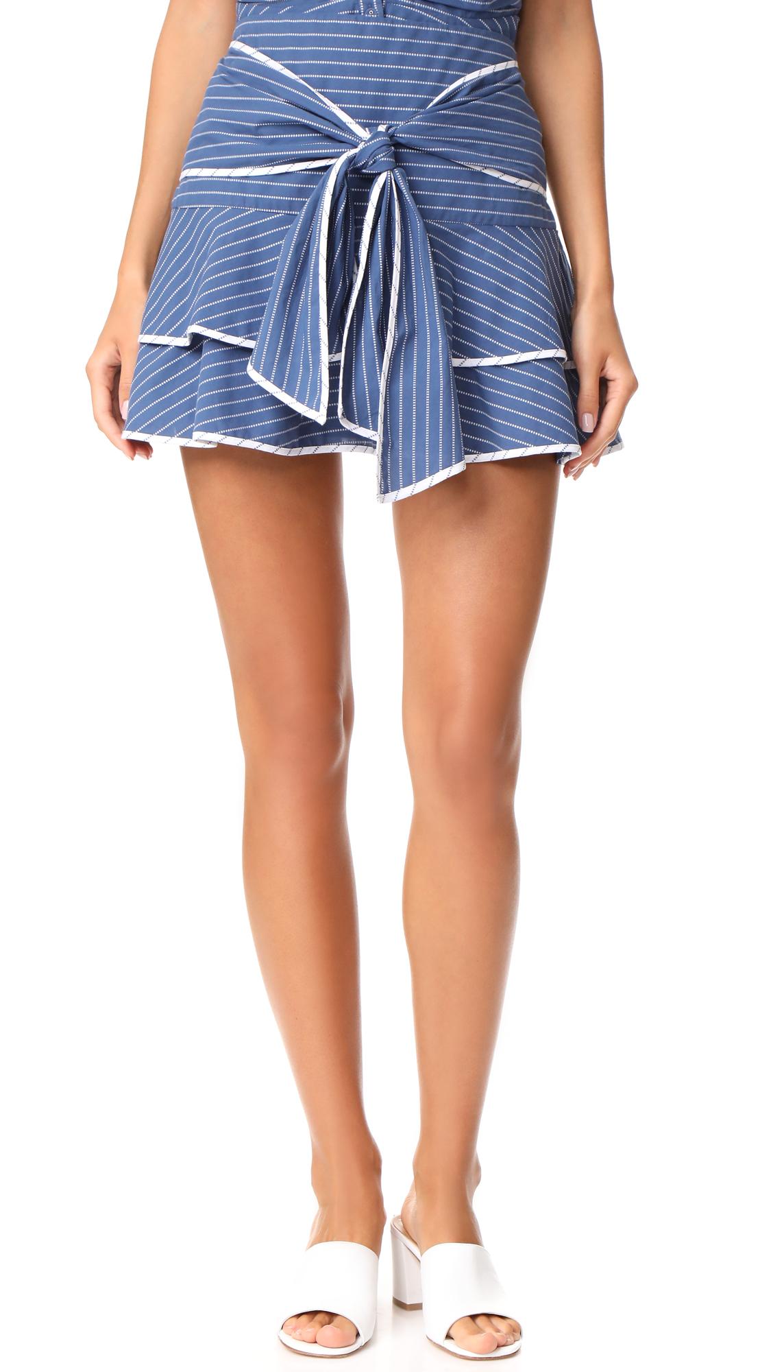 Parker Maiden Combo Skirt - Blue