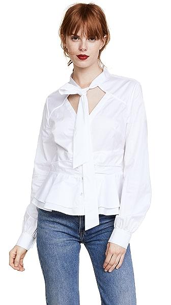 Parker Lenone Blouse In White