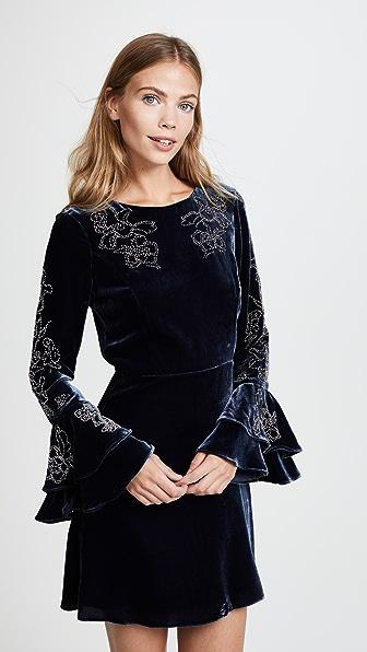 Parker Donatella Velvet Dress