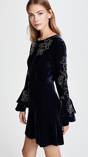 Parker Donatella Velvet Dress