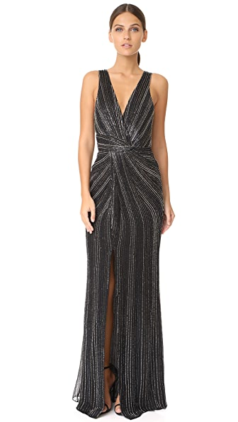 Parker Parker Black Monarch Gown