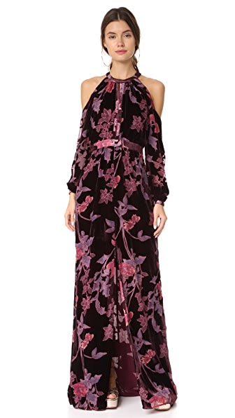Parker Parker Black Casa Maxi Dress - Multi