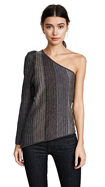 Parker Jelina Knit Sweater In Silver
