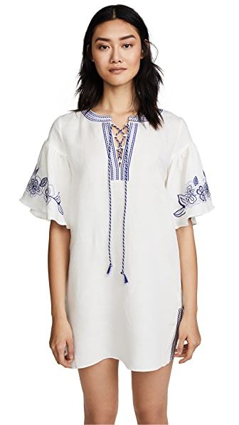 Parker Coconut Cover Up In White