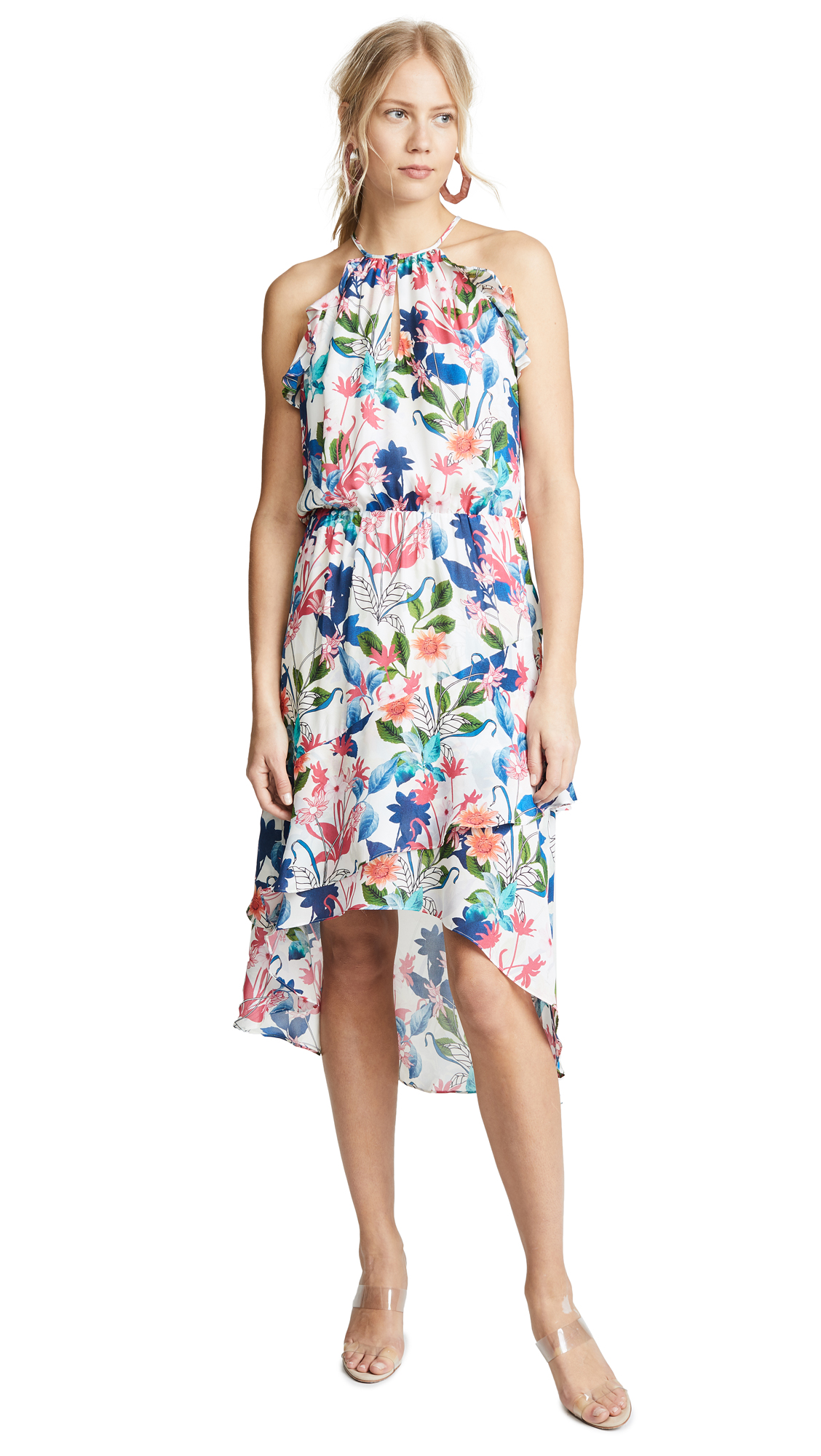 Parker Allister Dress In Floral Fiesta