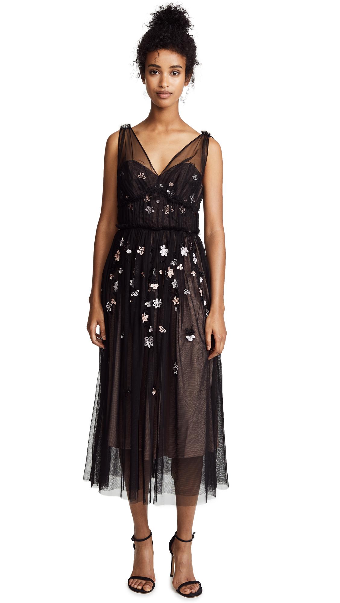 Parker Black Ruby Dress