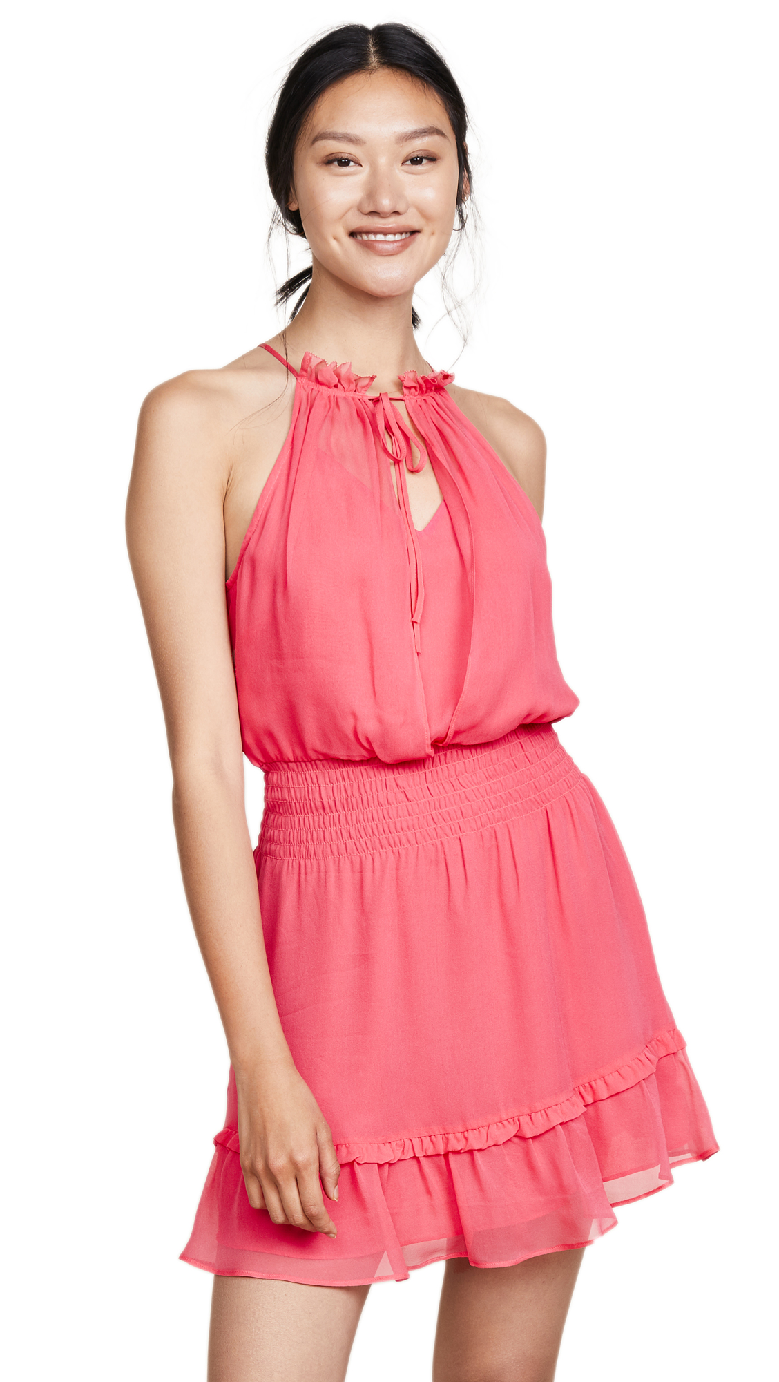 Parker Serenity Dress In Calypso Coral