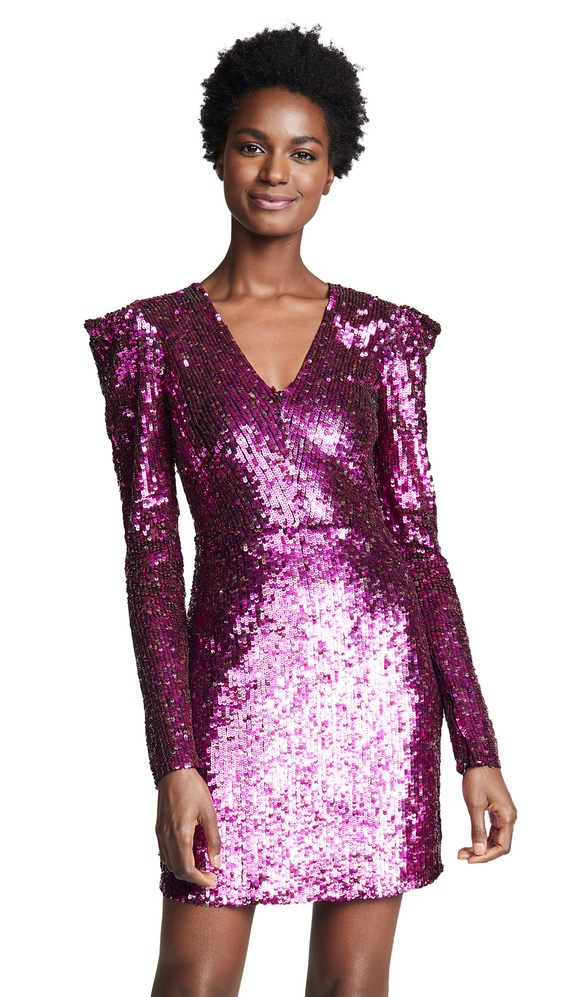 Parker Alisa Dress In Magenta