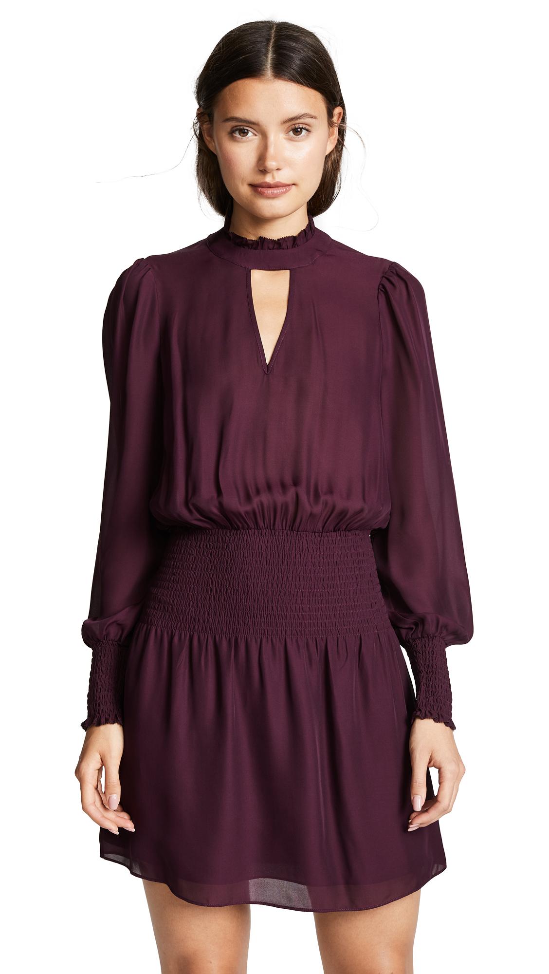 Parker Robyn Dress In Cordovan