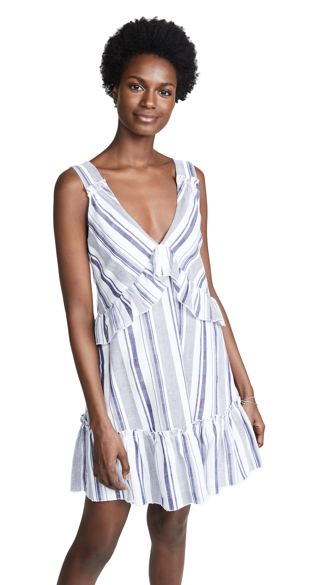 Parker Paradise Dress - Aquarius Stripe