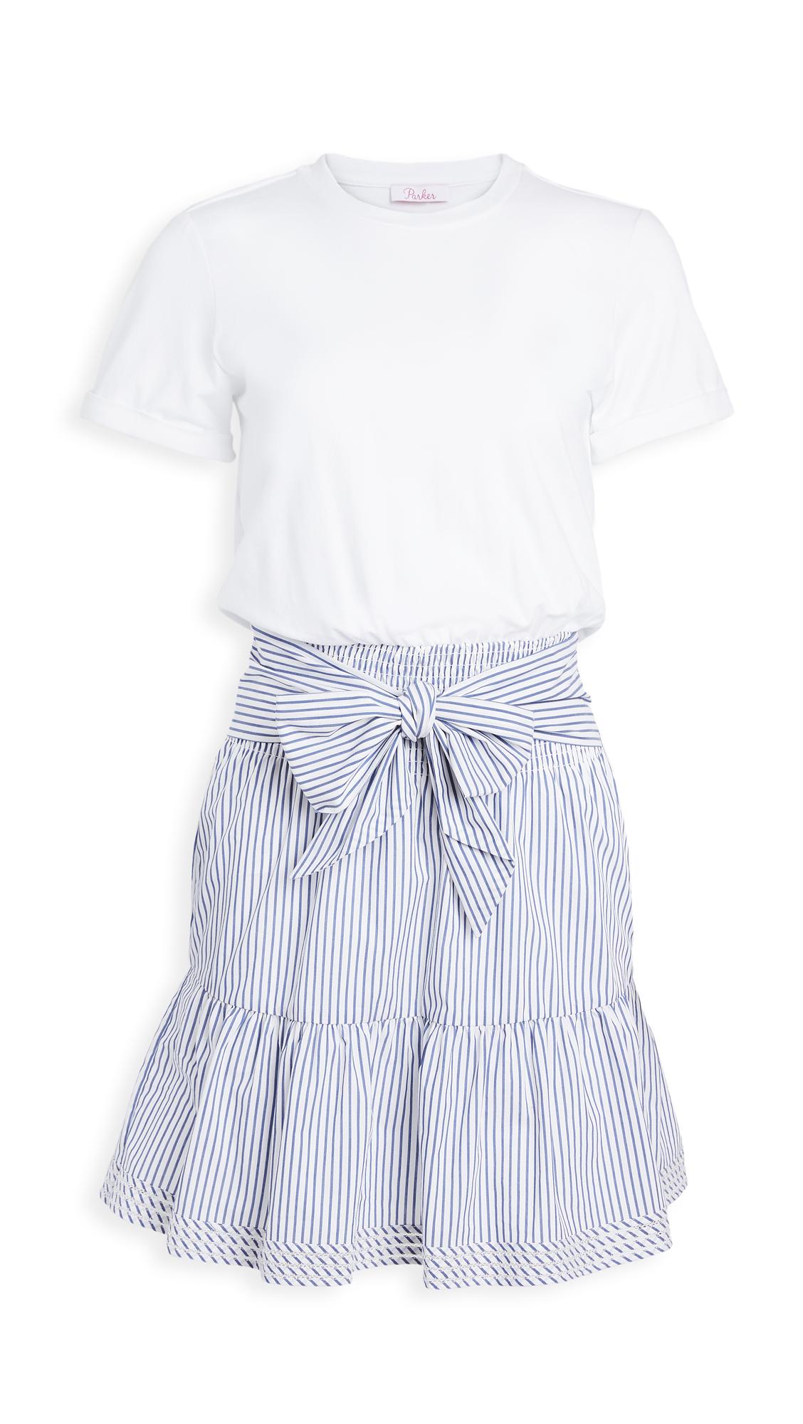 Parker Fleur Combo Dress - 40% Off Sale