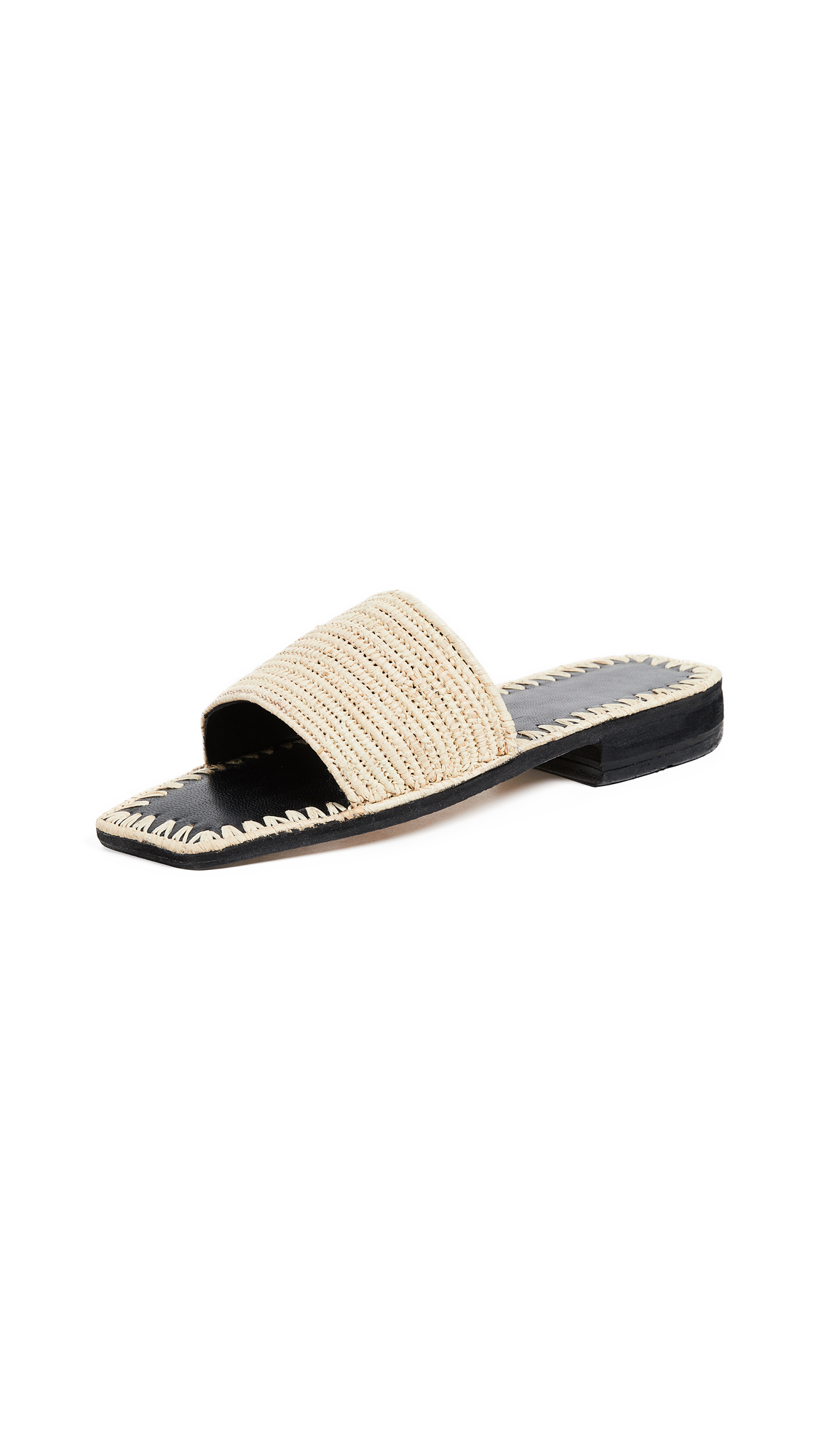 PARME MARIN SIMPLE STRAP SLIDES