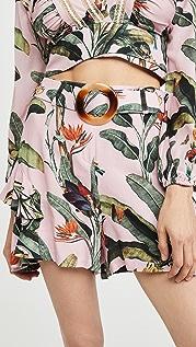 PatBO Tropical Print Shorts