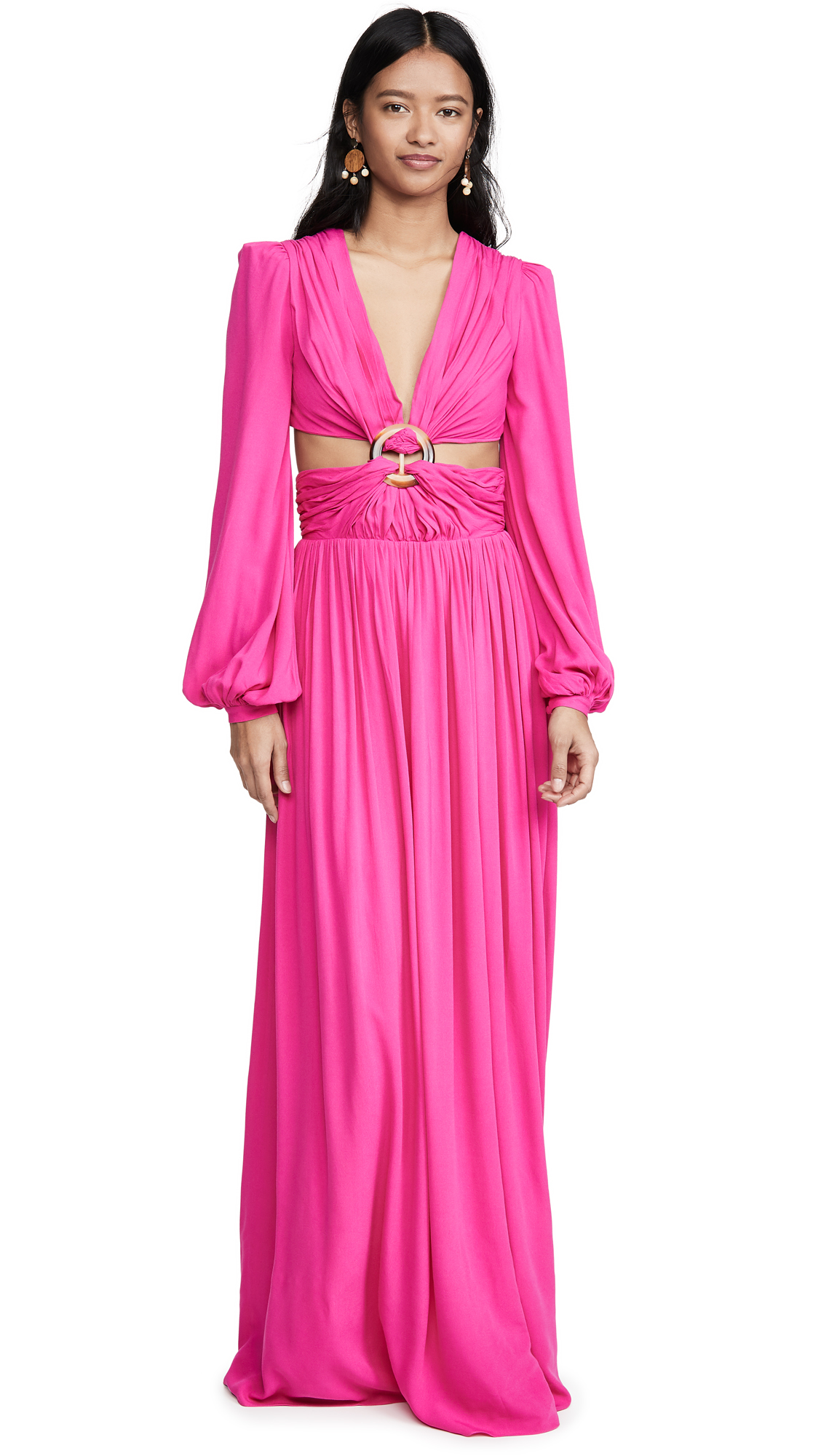 Buy PatBO online - photo of PatBO Neon Cutout Gown
