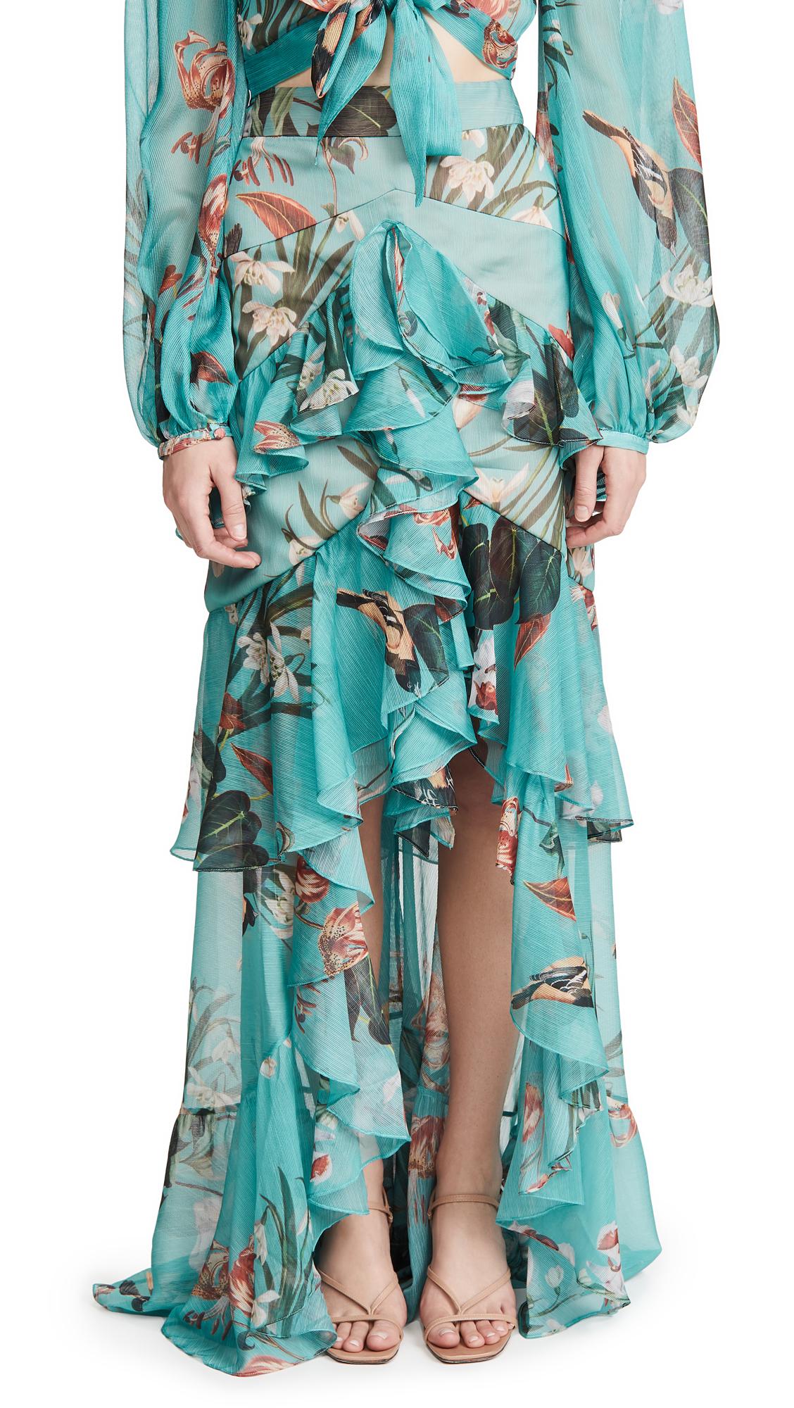 Buy PatBO online - photo of PatBO Carolina High-Low Skirt