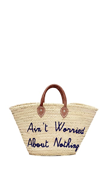 Poolside Bags Ain't Worried About Nothing Tote