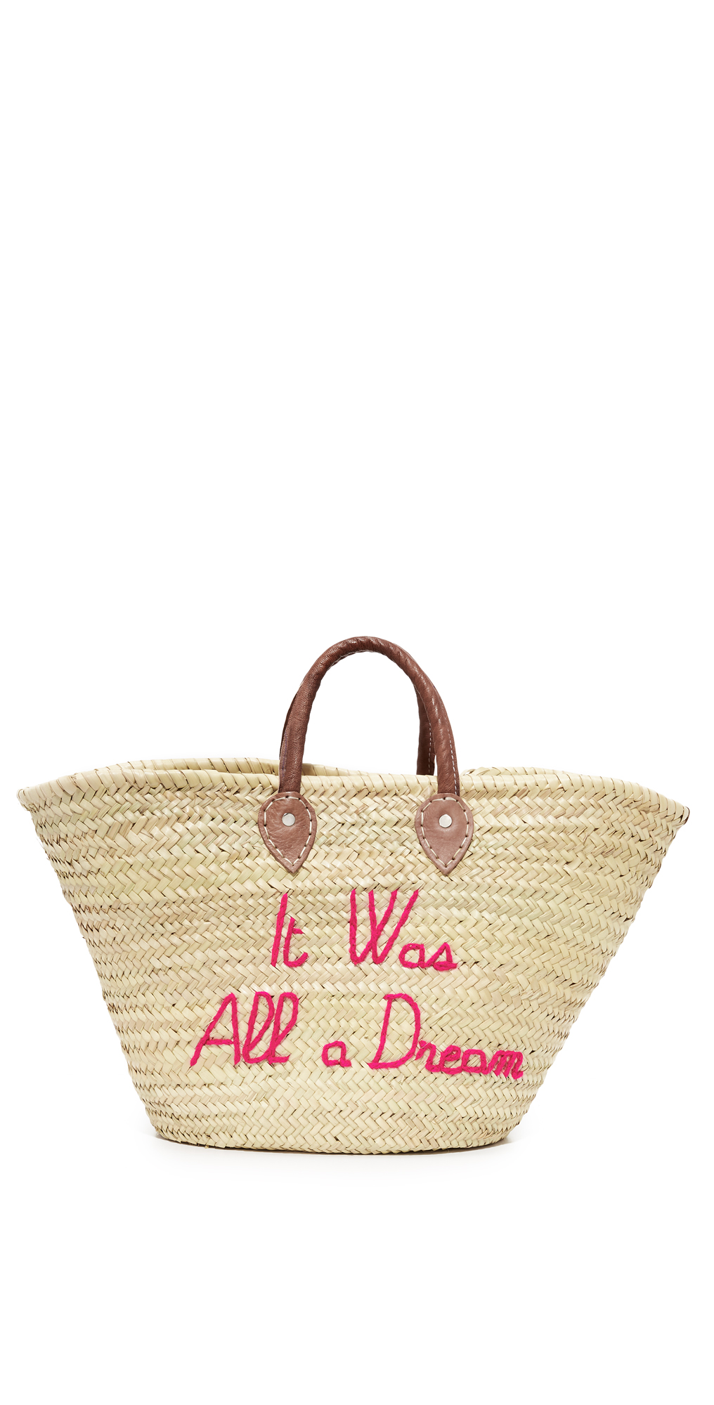 It Was All a Dream Tote Poolside Bags