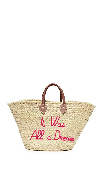 Poolside Bags It Was All a Dream Tote - Fuchsia