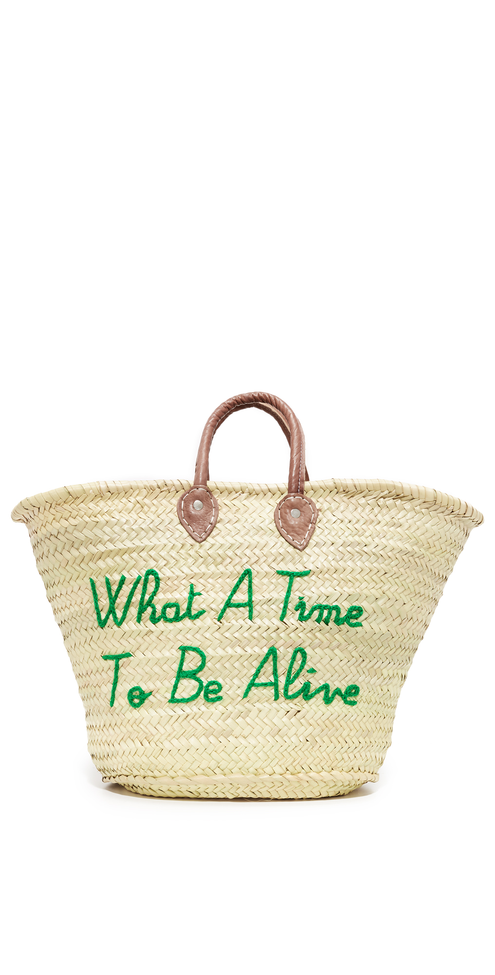 What a Time To Be Alive Tote Poolside Bags