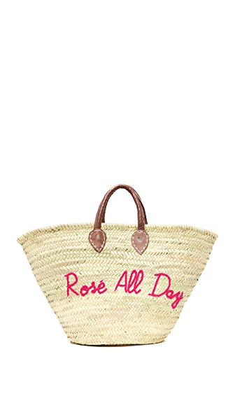 Poolside Bags Rose All Day Tote - Fuchsia