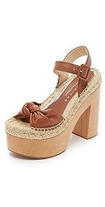 Lola Platform Sandals                Paloma Barcelo