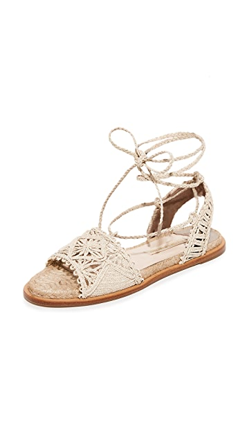Paloma Barcelo Cruis Flat Sandals