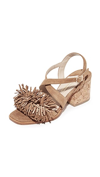 Paloma Barcelo Neville Fringe City Sandals