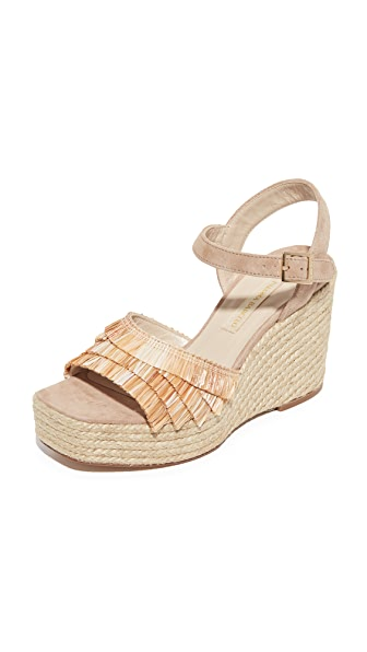 Paloma Barcelo Puget Wedges - Natural