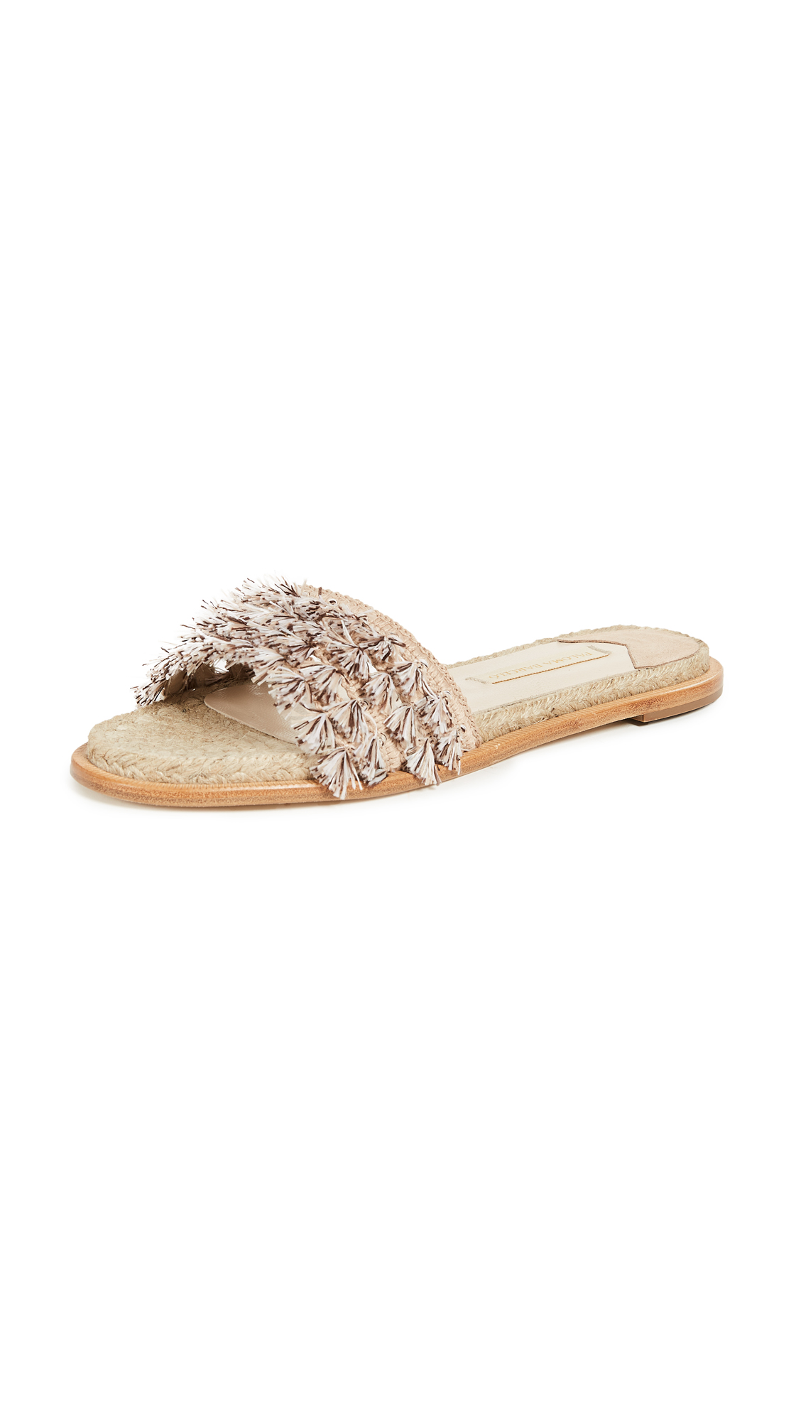 Paloma Barcelo Laurina Slides - Taupe