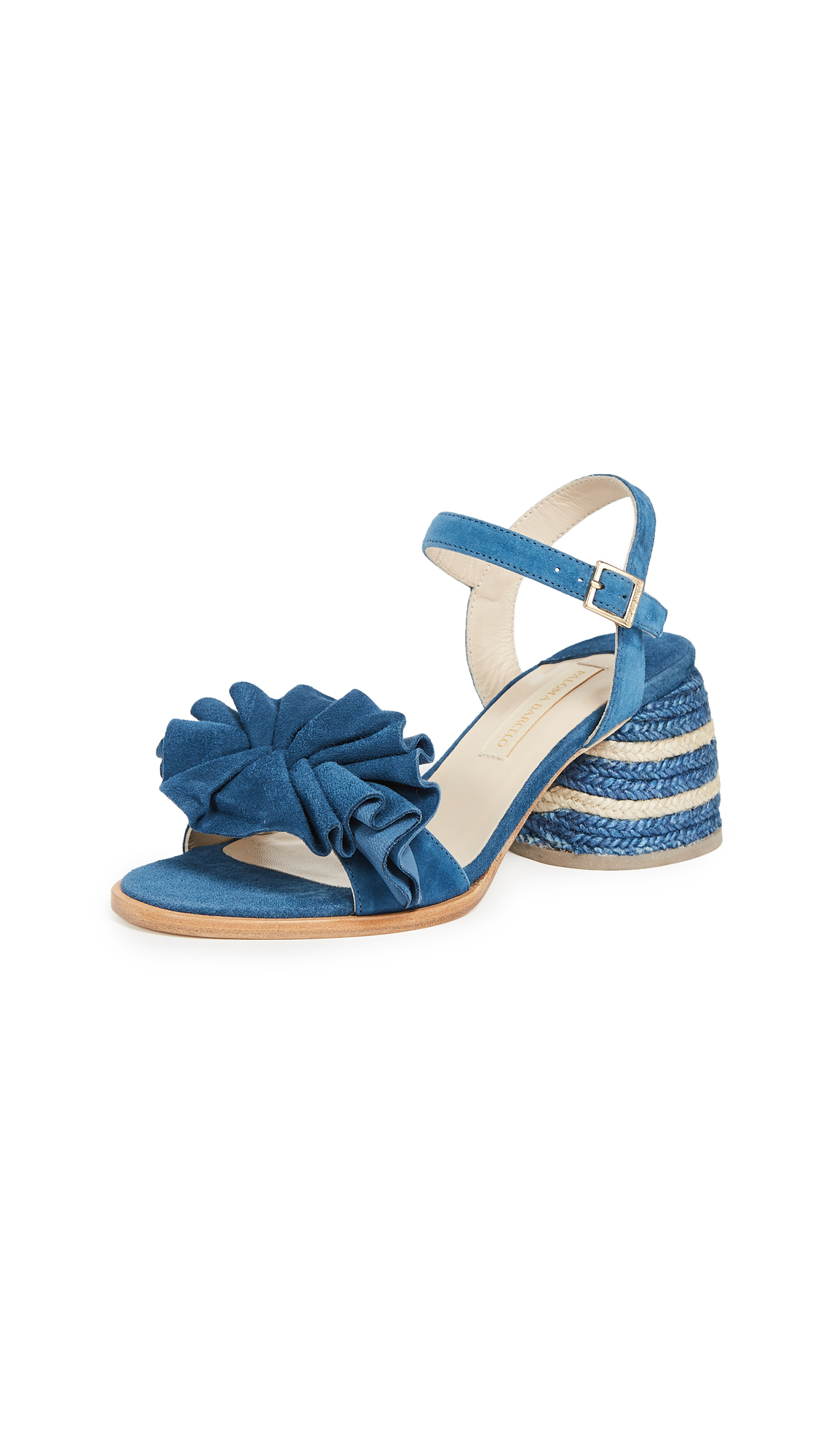 Paloma Barcelo Acacia Sandals - Blue