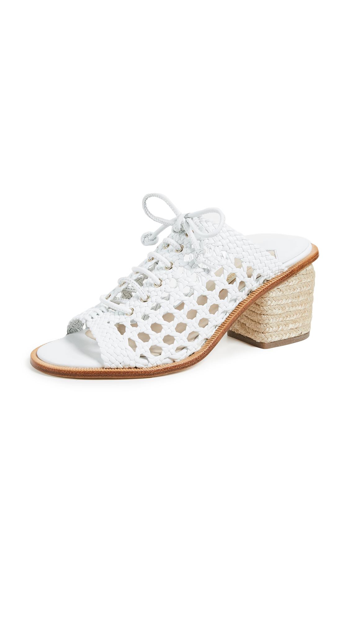 Paloma Barcelo Capsilum City Sandals - White