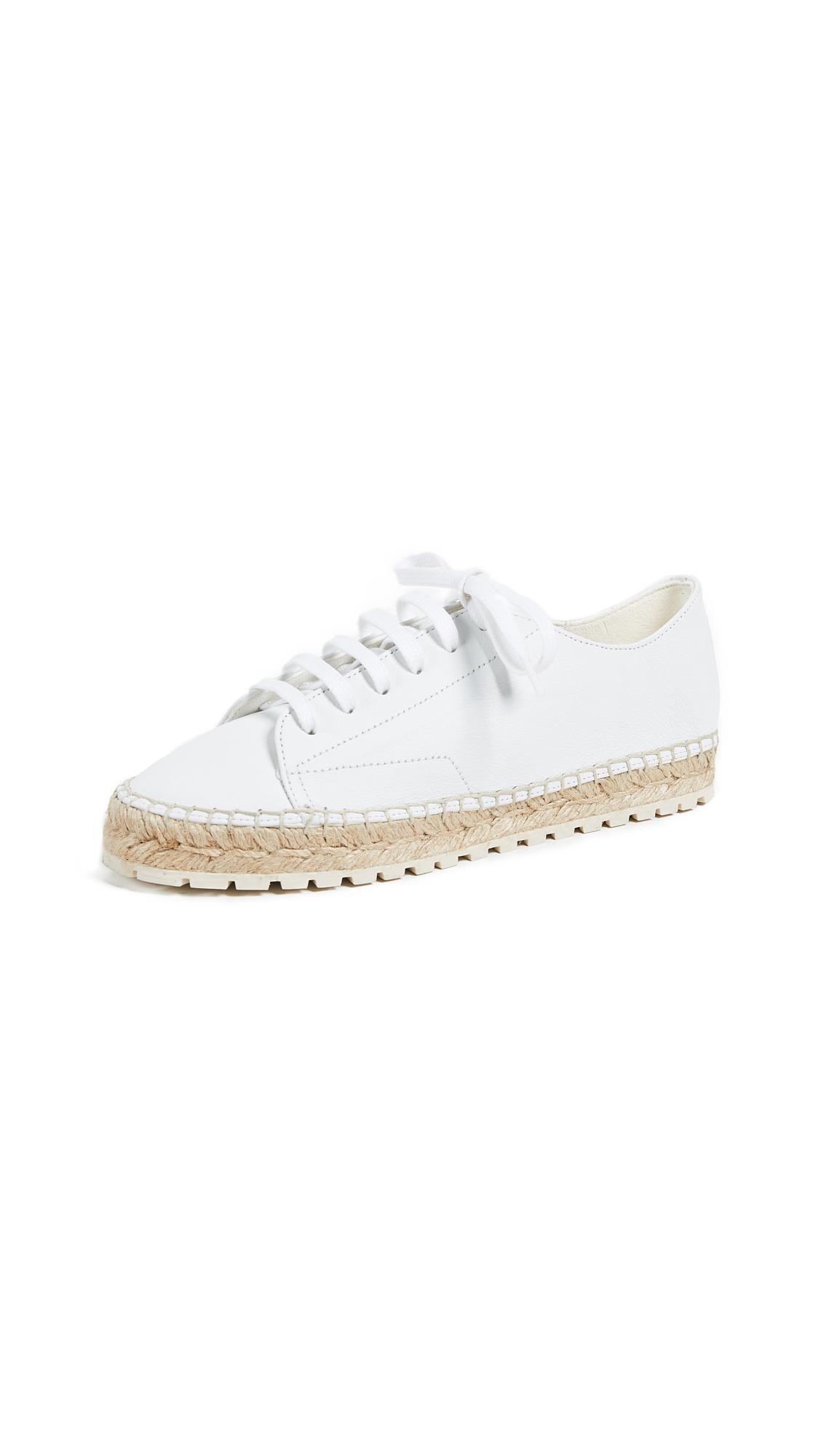Paloma Barcelo Erino Espadrille Sneakers In White