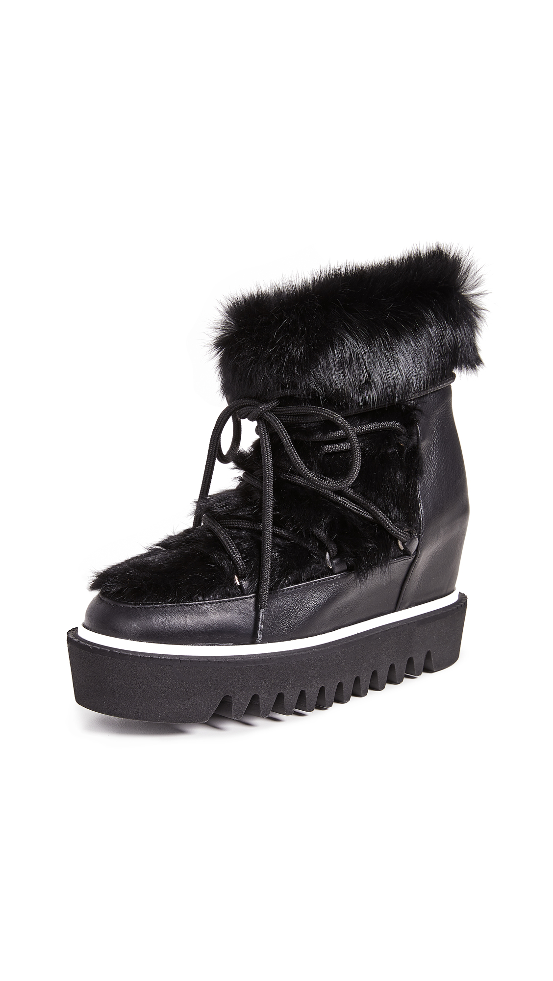 PALOMA BARCELÓ Triangle Boots in Black