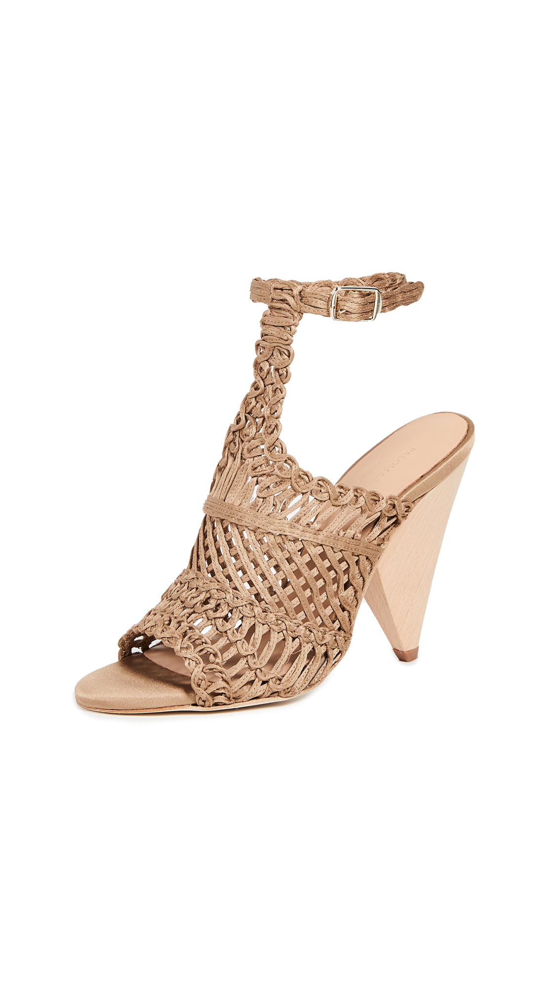 Paloma Barcelo Beatrice Sandals - Taupe