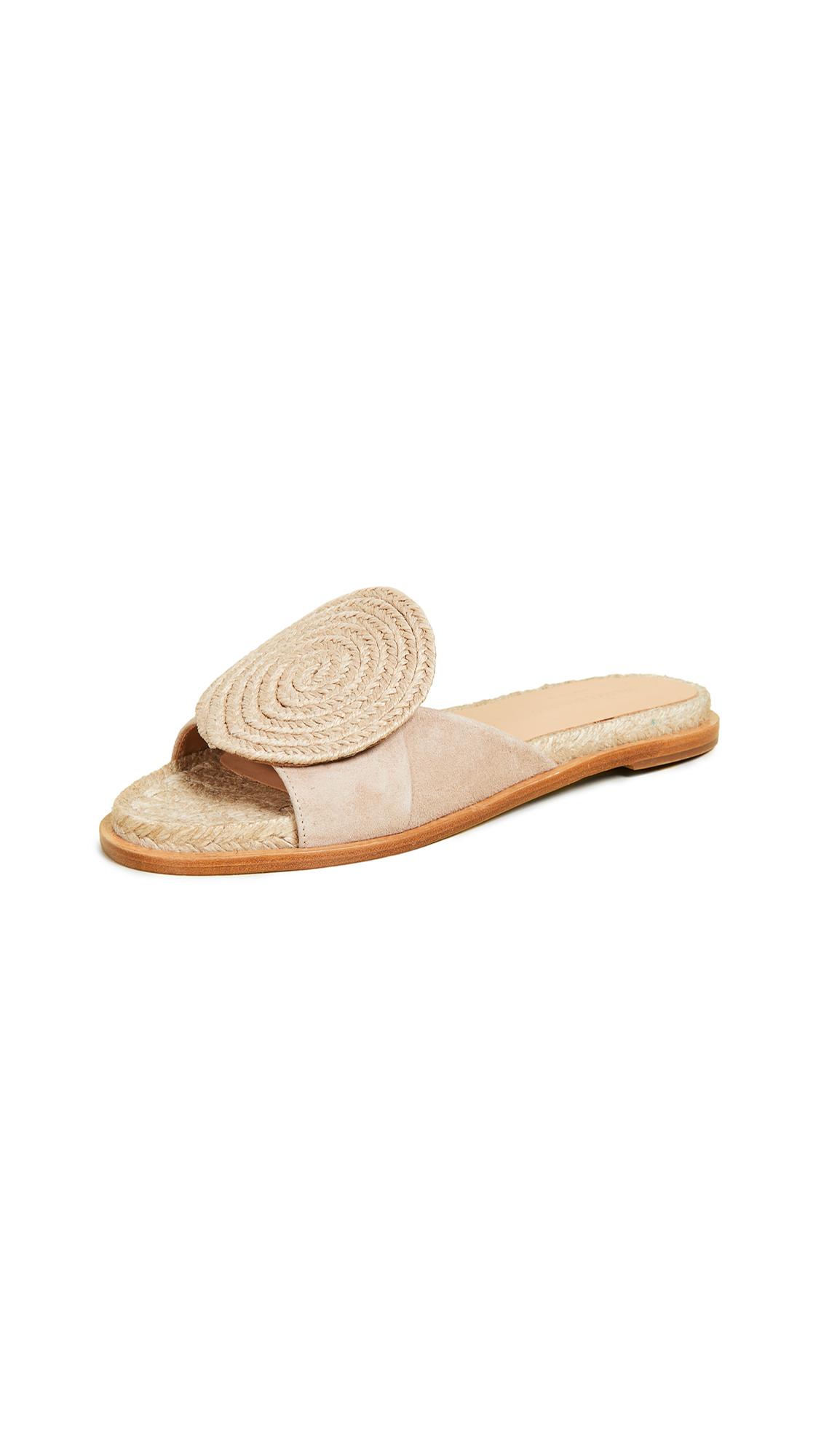 Paloma Barcelo Emilie Slide Sandals - Nude
