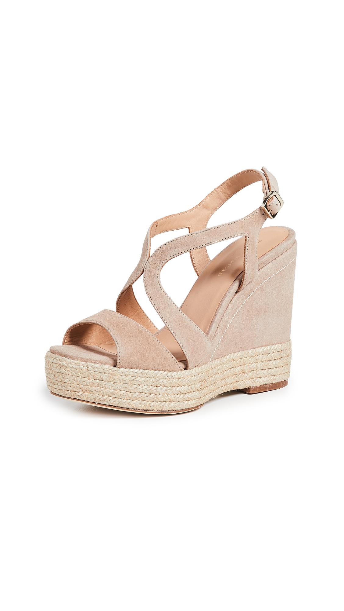Buy Paloma Barcelo online - photo of Paloma Barcelo Mafafa Wedge Sandals