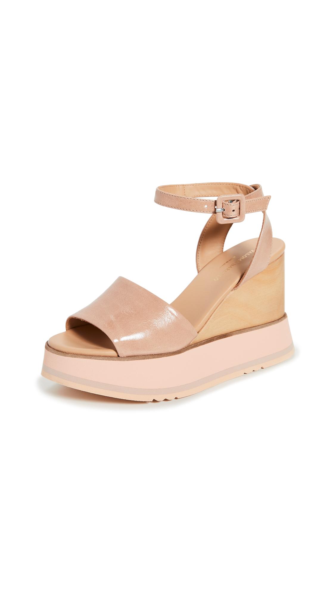 Buy Paloma Barcelo Gisele Wedge Sandals online, shop Paloma Barcelo