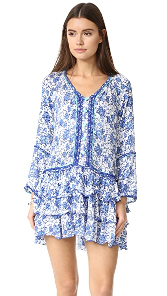 Poupette St Barth Boho Mini Dress