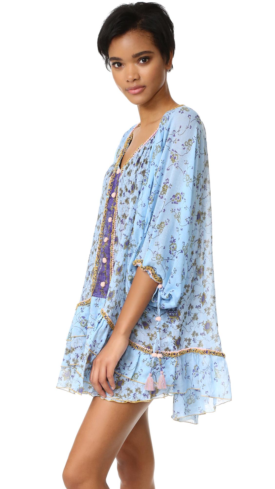 9445abeed35 Poupette St Barth Bobo Poncho Dress