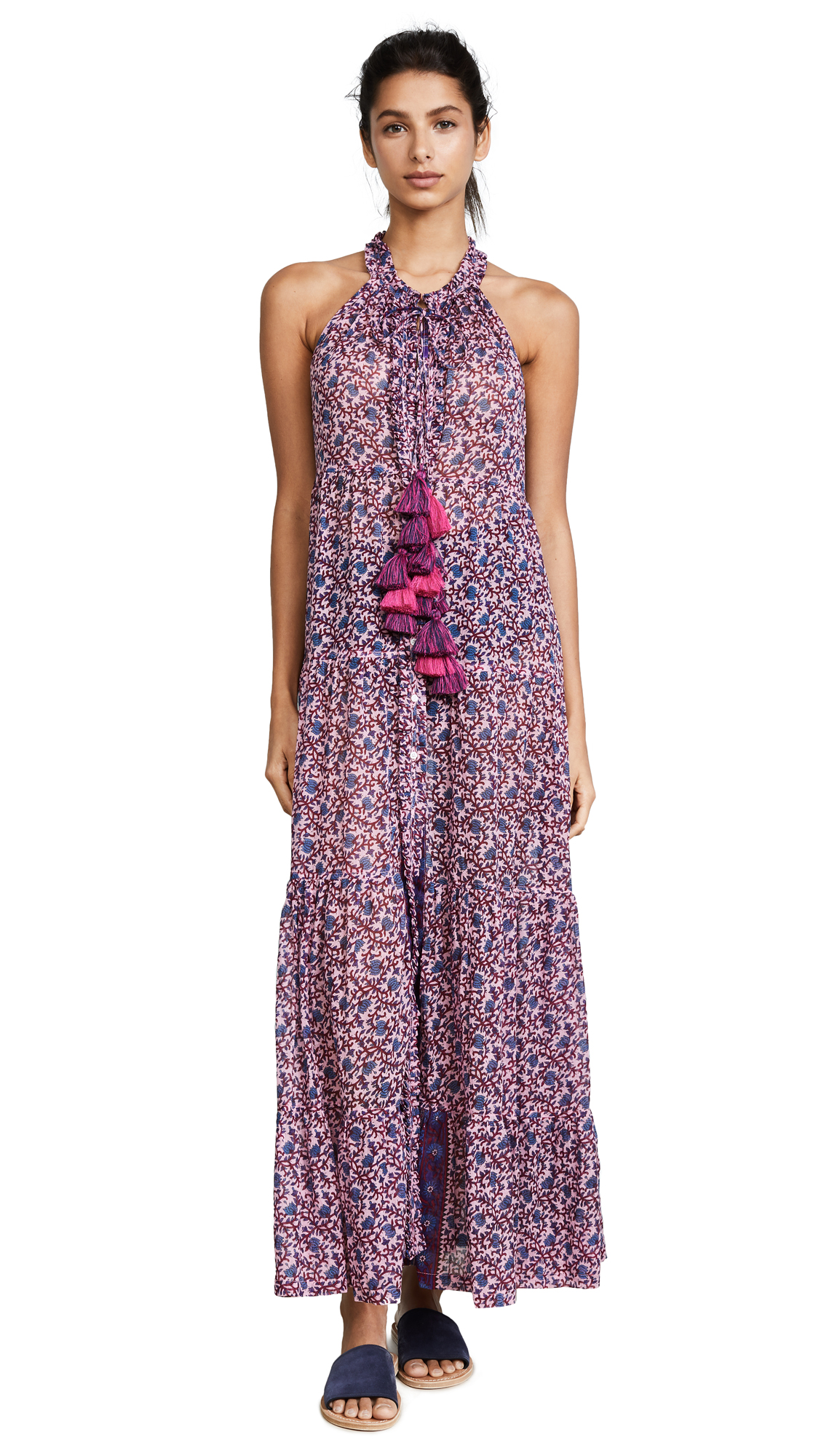 Poupette St Barth Honey Maxi Dress