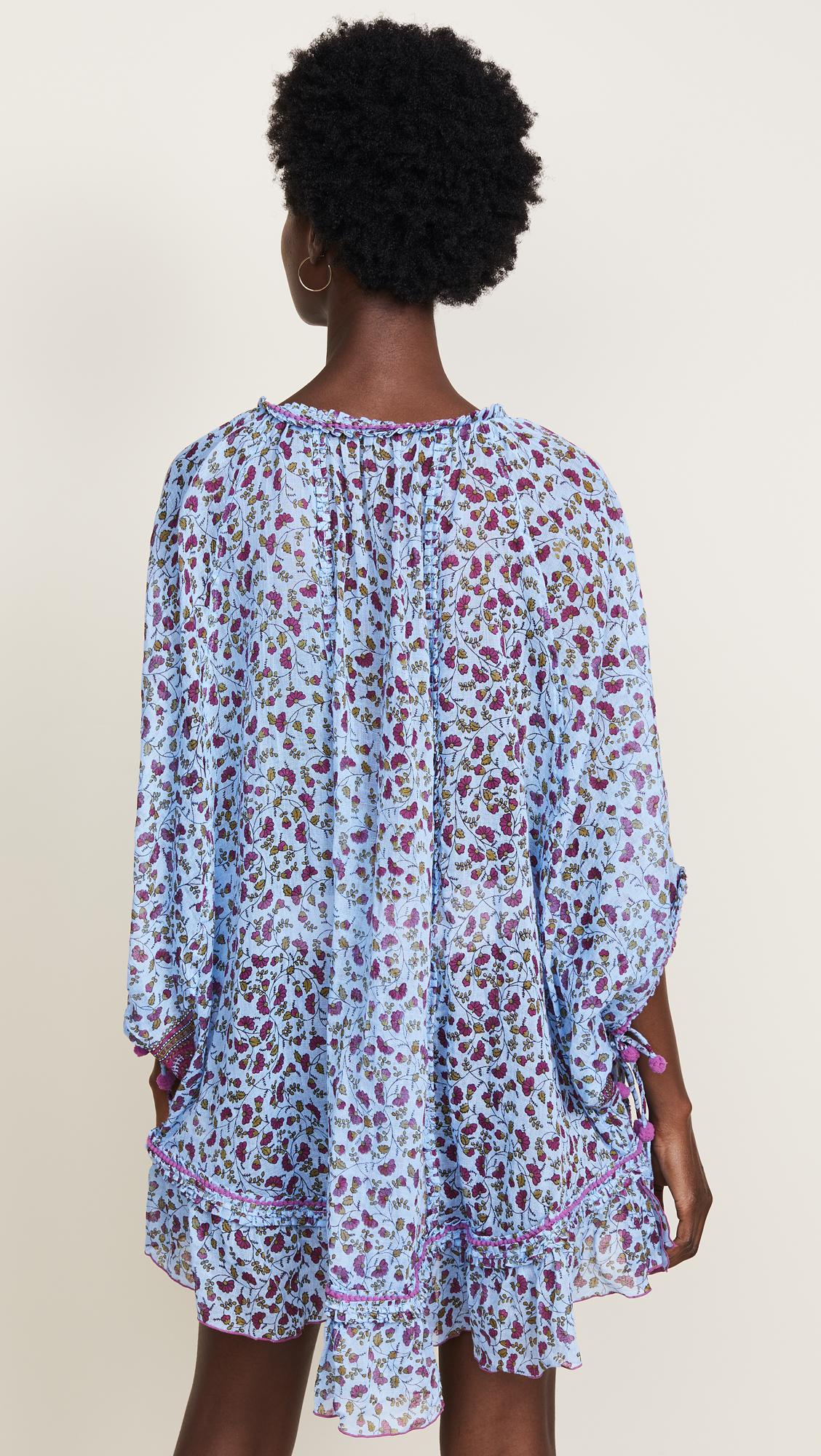 25cd59a1589 Poupette St Barth Fleur Poncho Dress