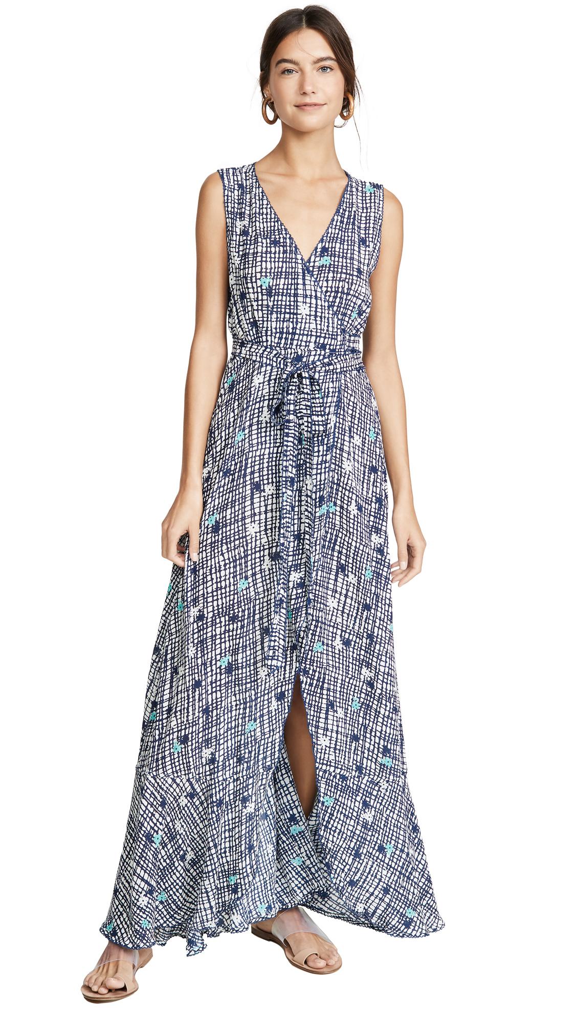 Buy Poupette St Barth online - photo of Poupette St Barth Bonnie Layered Long Dress