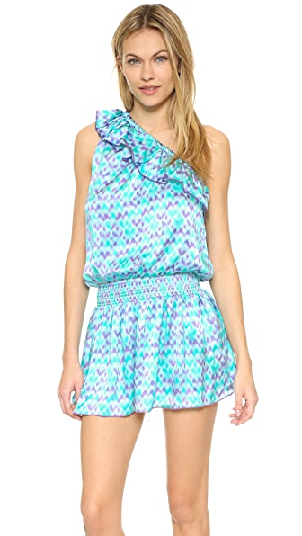 Paloma Blue Riviera Dress - Ikat Jade