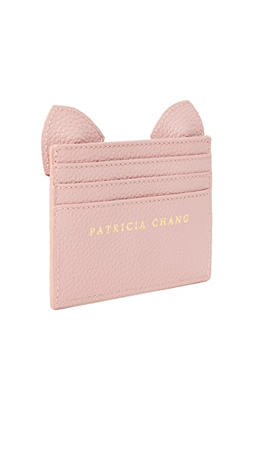 Patricia Chang Cat Card Case