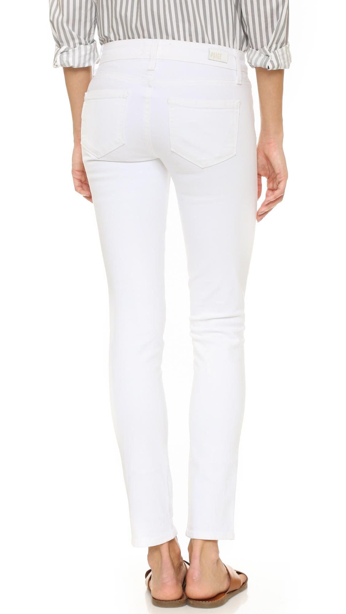 5d5aa19a6d4 PAIGE Skyline Ankle Skinny Jeans